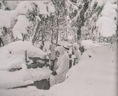 Etuvartio Syvärin suunnalla 21.12 1941.
