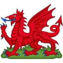 Heraldic badge, the red dragon of the ancient king Cadwalladr, used by Henry VII to strengthen his claim on the throne.