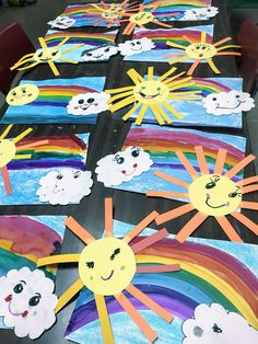 Elements of the Art Room: Kindergarten Cassie Stephens inspired rainbow paintings, kindergarten art lesson, elementary art lesson, primary art lesson, […] Kindergarten Art Lessons, Kindergarten Crafts, Art Lessons Elementary, Kids Art Lessons, Kindergarten Pictures, Elementary Education, Art Education, Rainbow Painting, Rainbow Art