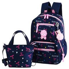 2018 New School Bags For Girls Printing School Backpacks Kids Backpack Back to School Supplies for Middle School Bookbag Cute Girl Backpacks, Kids Backpacks, School Backpacks, Pretty Backpacks, Cheap School Bags, School Bags For Girls, Girls Bags, Girls Rucksack, Rucksack Backpack