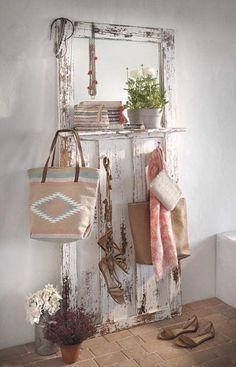 5 ideas para decorar el recibidor con reciclaje | Decorar tu casa es facilisimo.com