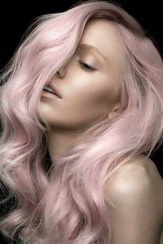 Pastel hair #beauty #hairstyle #pinkhairdontcare