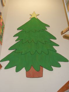 butcher paper christmas tree - Google Search