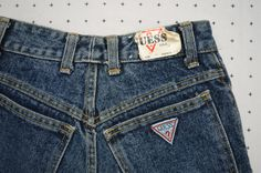 Amazing Unique DEAD STOCK Georges Marciano for GUESS High Waisted Skinny Jeans by HandsomePeteShop on Etsy