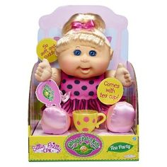 Cabbage Patch Kids Tea Party Toddler, Blond Hair, Blue Eyes, Caucasian