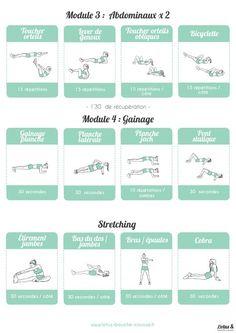 Programme Fitness Full Body n°2 : Un programme complet, pour débutantes et intermédiaires, qui sollicitera l'ensemble du corps.