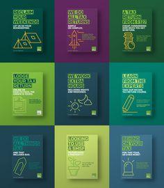 H&R-block-tax-return-australia-sydney-branding-poster-design-graphic-illustratio. - What is fashio. Graphic Design Trends, Graphic Design Posters, Graphic Design Illustration, Graphic Design Inspiration, Graphic Designers, Layout Design, Ad Design, Book Design, Cover Design