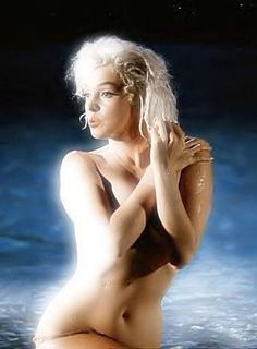 """Marilyn Monroe   - nude swim scene from uncompleted film """"Something's Got to Give"""" 1962"""