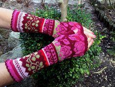 Ravelry: dom-klary's Knitted Fingerless Gloves - Stranded Colorwork
