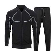 Manluo Boys Tracksuits Hoodies Letter Printing Jogging Suits Slim Fit Acitve Sweatshirt Students Sports