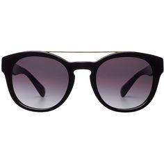 Dolce & Gabbana Aviator Sunglasses ($130) ❤ liked on Polyvore featuring accessories, eyewear, sunglasses, black, black aviator sunglasses, dolce gabbana eyewear, black glasses, aviator glasses and dolce&gabbana