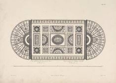Ceiling of the great room, or library, at Kenwood, residence of Lord Mansfield.