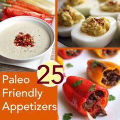 Paleo snacks / Paleo appetizers #paleo