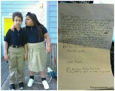 Cutest Santa letter from 8yr old boy