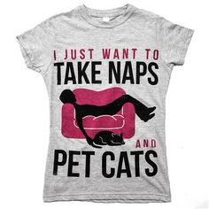 504079c5b 'Naps and Cats' Tee   Gifts For Cat Lovers – Animal Hearted Apparel Crazy