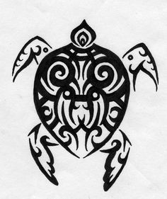 turtle art | Tribal Turtle by ~M-Everham on deviantART
