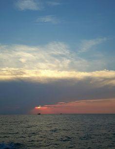 Sunset at Pattaya