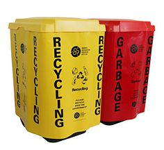 Waste cap and curtain fits 240 litre wheelie bin. Easy identification for large venues and events to the Australian standard for waste management. Available from Eco Office Supplies. www.ecooffice.com.au