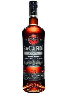 Bacardi Black Rum 750ML - Liquor Barn