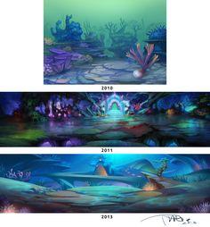 Undersea 2009-2013 by ~phomax on deviantART