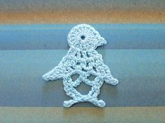 Crochet Penguin and several other little crochet animals (with charts) Marque-pages Au Crochet, Crochet Mignon, Crochet Birds, Crochet Motifs, Crochet Squares, Thread Crochet, Cute Crochet, Crochet Animals, Irish Crochet