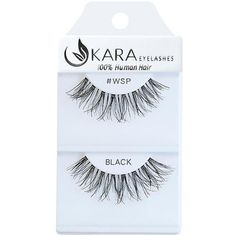 Shop online for Kara Lashes WSP at LadyMoss.com. These eyelashes are made from 100% human hair.