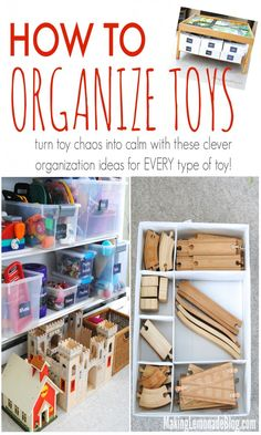 How to Organize and Tame Toys! Practical steps and clever ideas from this busy family for organizing ALL types of toys to help you declutter and simplify your life!
