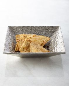 H7EAZ Michael Aram Block Square Chip Bowl