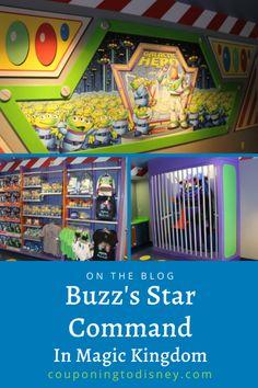 Buzz's Star Command in Magic Kingdom