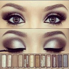 maquillage libanais glamour eyeliner monvanityideal