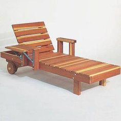 Woodworking Project Paper Plan to Build Redwood Chaise, Plan No. 639 Woodworking Project Paper Plan to Build Redwood Chaise, Plan No. Woodworking Box, Woodworking Supplies, Easy Woodworking Projects, Popular Woodworking, Woodworking Videos, Woodworking Furniture, Furniture Plans, Wood Projects, Woodworking Classes
