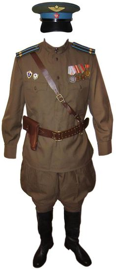 Soviet Air Force Officer military Uniform