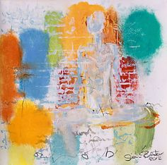 Assignment vulnerability of being |  tempera on paper #susanrichter #abstractart #abstractpainting