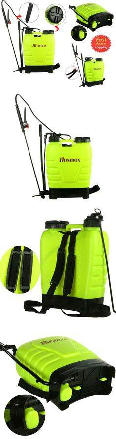 Garden Sprayers 178984: Garden Backpack Sprayer Lawn Pump 4 Gallon Chemical Tank Bottle Spray Wand -> BUY IT NOW ONLY: $39.99 on eBay!