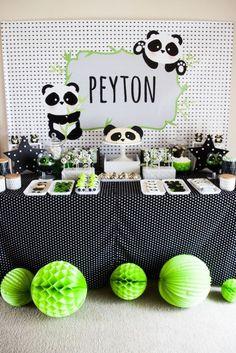"Panda Bear ""Panda-monium"" Birthday Party via Kara's Party Ideas | KarasPartyIdeas.com (7)"
