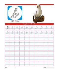 Small Cursive Letter B Printable Coloring Worksheet English Cursive Alphabet, Cursive Small Letters, Cursive Letters Worksheet, Cursive Writing Practice Sheets, Handwriting Worksheets For Kids, Learning Cursive, Handwriting Practice Worksheets, Letter Tracing Worksheets, Writing Cursive