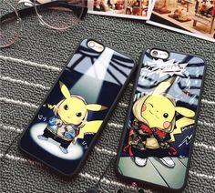 Pokemon Doodle Pikachu Folio Smart Case For iPad 5 6 Mini 1 2 3 Air
