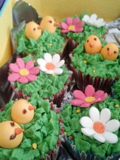 cupcakes Pâques / Easter