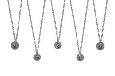 Custom Initial Monogram Necklaces ONLY $5.95 -83% OFF SALE