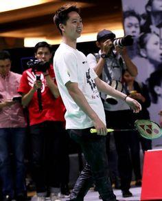 Semangat mpin sayang, ingat aku selalu ya sebagai penyemangat mu:v Badminton, Minions, Athlete, Handsome, Basketball, Trends, Netball, Minion Stuff, Minion