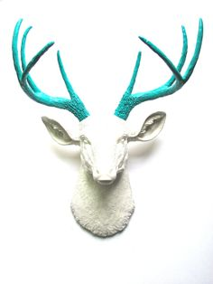 Hey, I found this really awesome Etsy listing at https://www.etsy.com/listing/164535136/faux-taxidermy-deer-head-wall-decor-wall