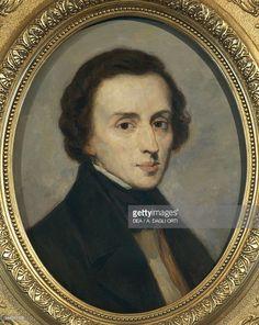 Portrait of Frederic Chopin (Zelazowa Wola, 1810-Paris, 1849), Polish pianist and composer. Painting by Ivan Boxel. Zelazowa Wola, Dom Urodzenia Fryderyka Chopina W Zelazowej Woli