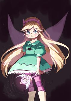 star vs the forces of evil Starco, Princess Star, Princess Zelda, How To Paint Digitally, Gravity Falls, Star Y Marco, Star Wars, Dark Star, Fanart