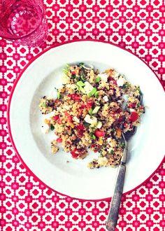 Il Cavoletto di Bruxelles | L'insalata di quinoa </br>del cinque de Mayo | http://www.cavolettodibruxelles.it/