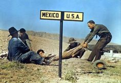 Two border patrol officers attempt to keep an American fugitive in America, while Mexican police try to keep him in Mexico.