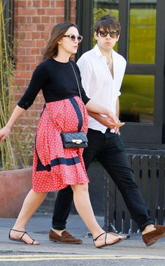 Keira Knightley & James Righton from The Big Picture: Today's Hot Pics | E! Online