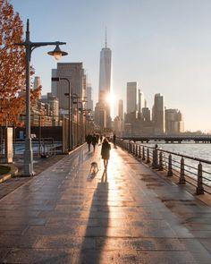 Hudson River Park walk by Max Guliani - New York City Feelings