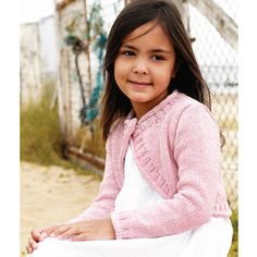 Knit This Cute Cover-Up For A Little Girl