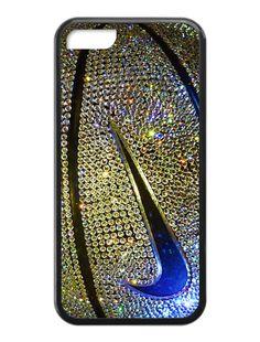 Nike Basketball Photo Glitter Gold iPhone 5c Case #iphone #case #iphonecase #phonecase #iphone5c #nike #nikecase