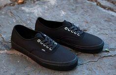 Black on black vans!!!